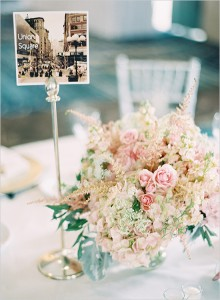 wedding table number card, diy wedding signage