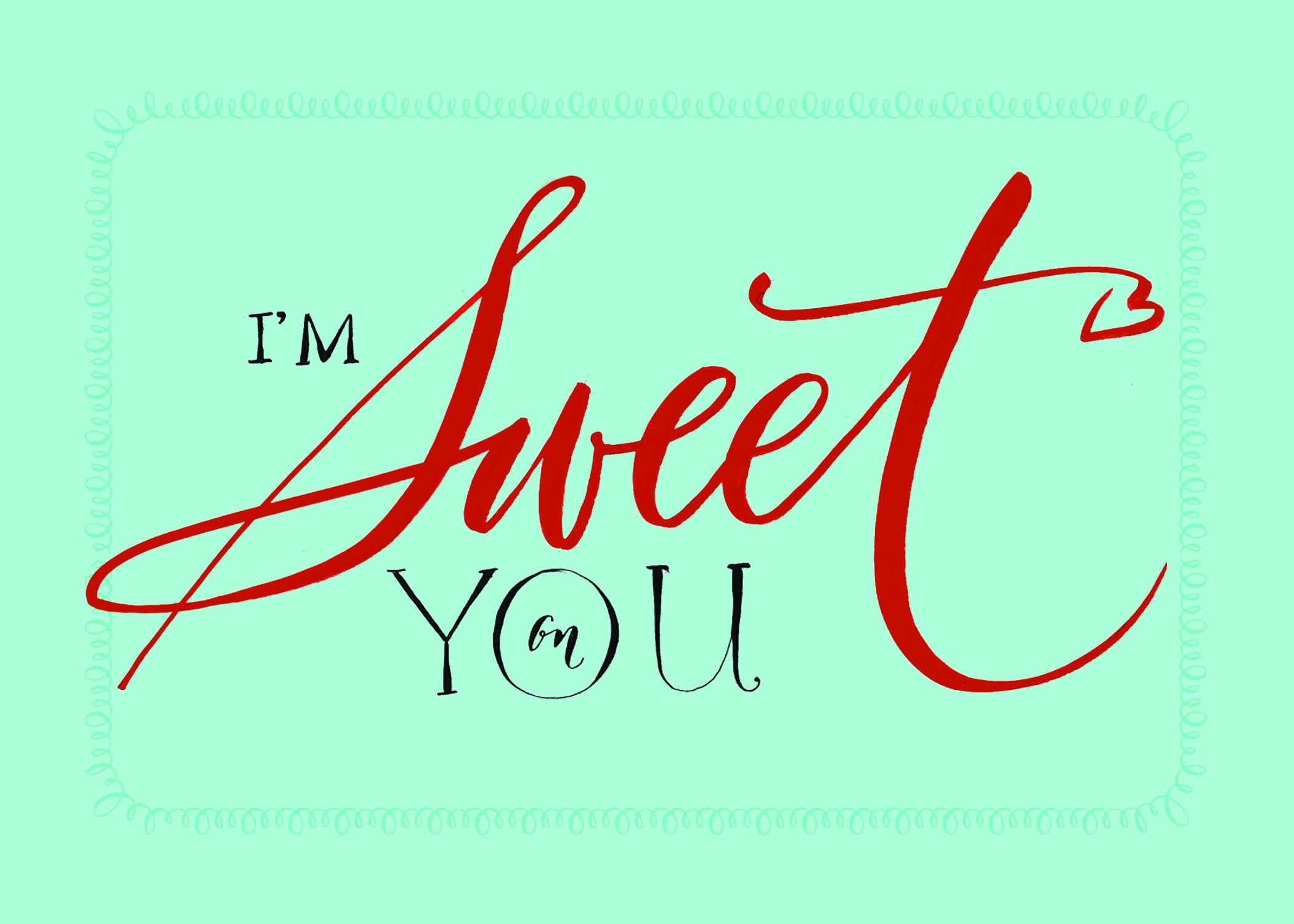 Free Valentines Lettering Art Studio Debi Sementelli Calligraphy