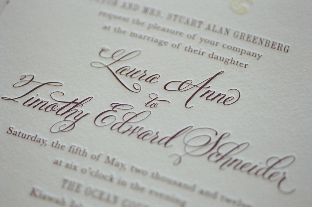 Wedding Invitation by lettered olive featuring Belluccia calligraphy font, Wedding invitations, Belluccia font, Calligraphy font, Belluccia calligraphy fonts, script fonts, cursive fonts, Calligraphy, Top Selling fonts, Best Selling fonts, Debi Sementelli, Lettering Art Studio, laser cut wedding invitations, lavendar and cream wedding invitations,