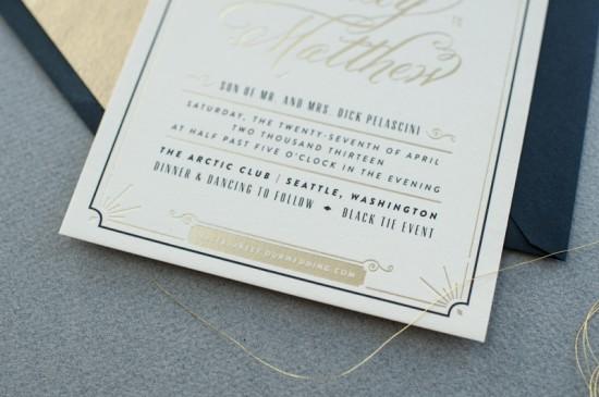 wedding invitation, wedding invitation suite, multiple block fonts combined with script belluccia font, Lettering Art Studio, Debi Sementelli