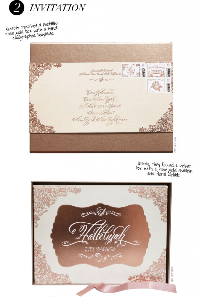 wedding_branding_roses_luxury_invitation_mailer_box_roses_ceci_johnson_v152_cct,wedding invitation, wedding invitation suite, belly band addressing label, Belluccia, Lettering Art Studio, Debi Sementelli