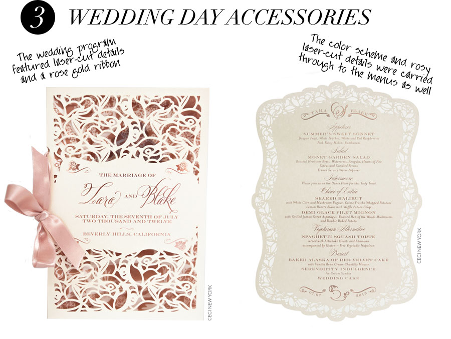 wedding_branding_roses_luxury_menu, wedding invitation, wedding invitation suite,  wedding program, Lettering Art Studio, Debi Sementelli