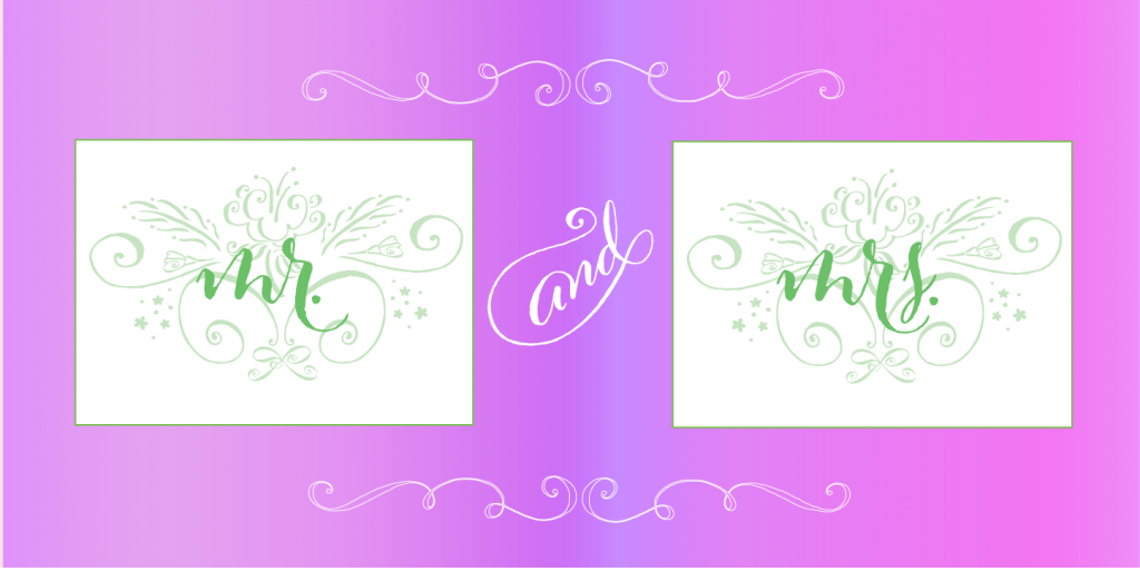 mr.and mrs,Cantoni Script font, calligraphy font,script font, fancy font, hand lettered font, hand written font, fancy alphabet, fonts for invitations, best selling fonts, most popular fonts, unique fonts, fonts for weddings, wedding fonts, fonts for invitations, diy wedding fonts, diy wedding, Mr. and Mrs. Chair signs, flourishes, ornaments, wedding flourishes, wedding ornaments, wedding,