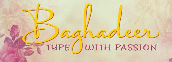 Baghadeer font, Stephen Rapp, script fonts, calligraphy fonts, hand lettered fonts, cursive fonts, fancy fonts, fancy letters, my fonts