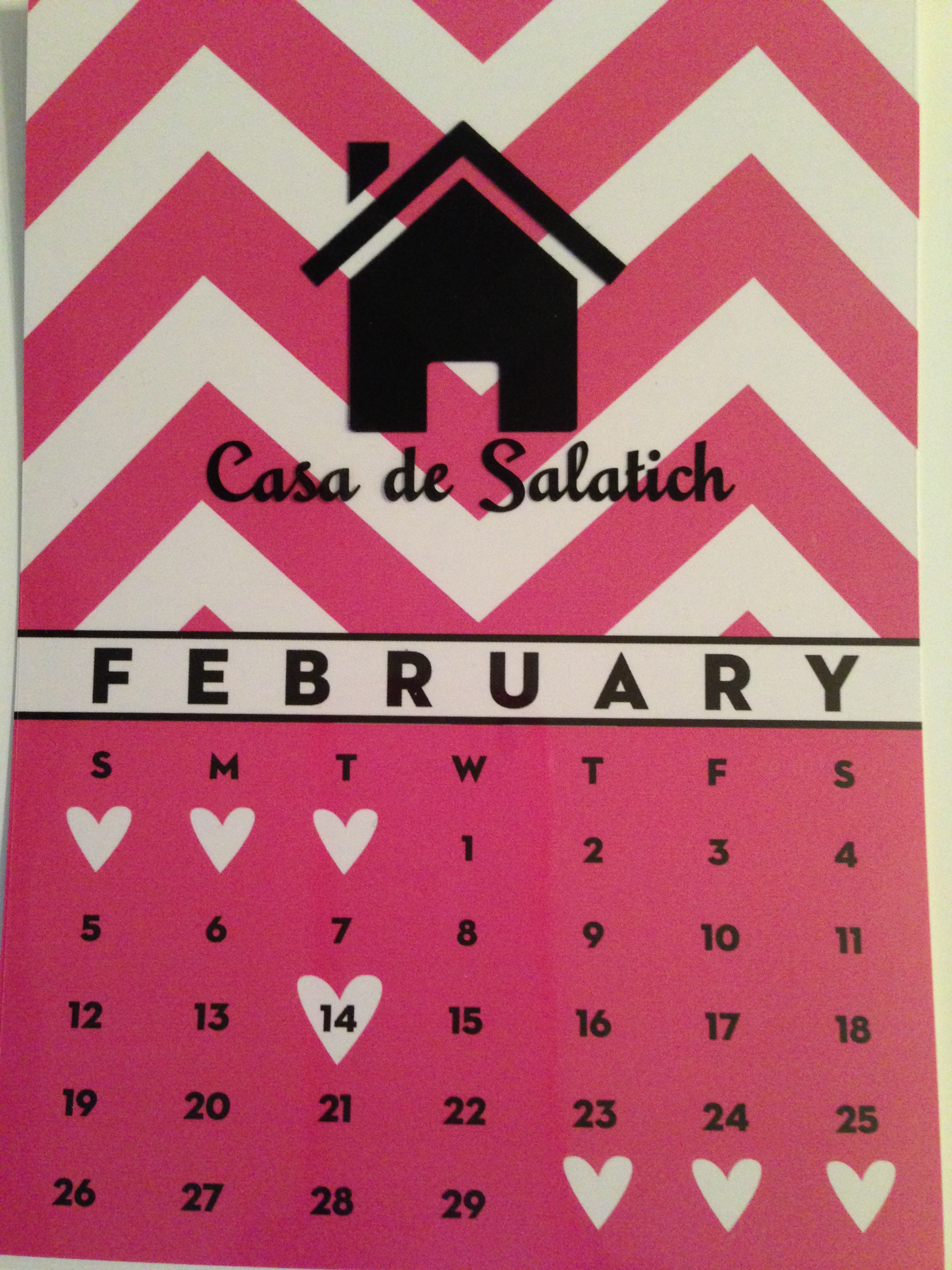 Personalized Calendars and Gifts From Monogrammed Papers | Debi ...