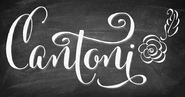 Cantoni Fonts